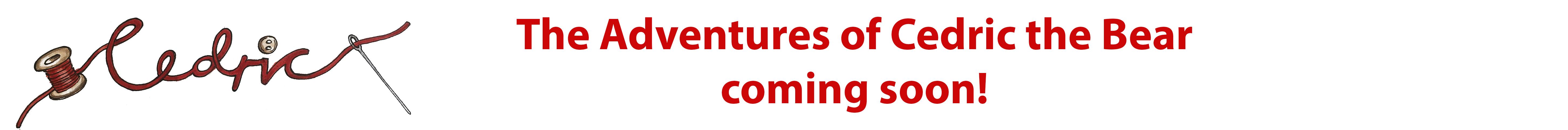 Cedric Cover Title header publishing announcement